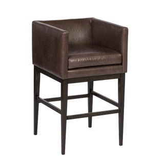 Elite Leather Premier Bar Stool