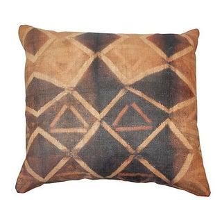 Tie Dye African Kuba Cloth Pillow