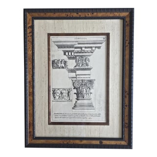 Classical Elements of Architecture Print Plate #33