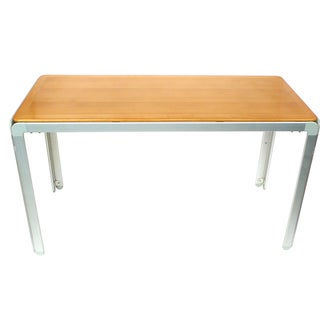 Arne Jacobsen Beech & Aluminum Table