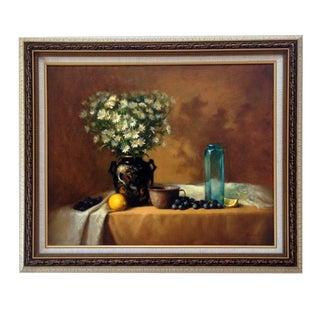 Floral Still Life, Original Oil Painting