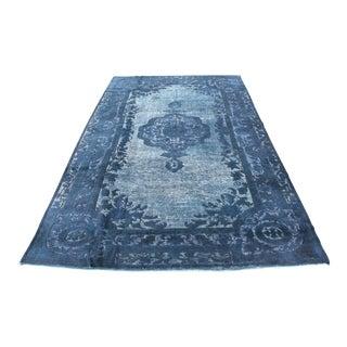 Overdyed Turkish Vintage Carpet - 7′3″ × 10′4″