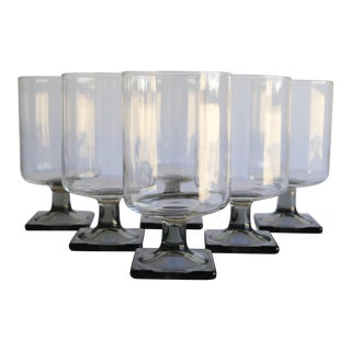 Mid-Century Modern Glasses - Set of 6