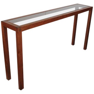 Midcentury Danish Teak Console Table