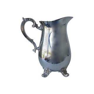 Gorham Silverplate Water Carafe