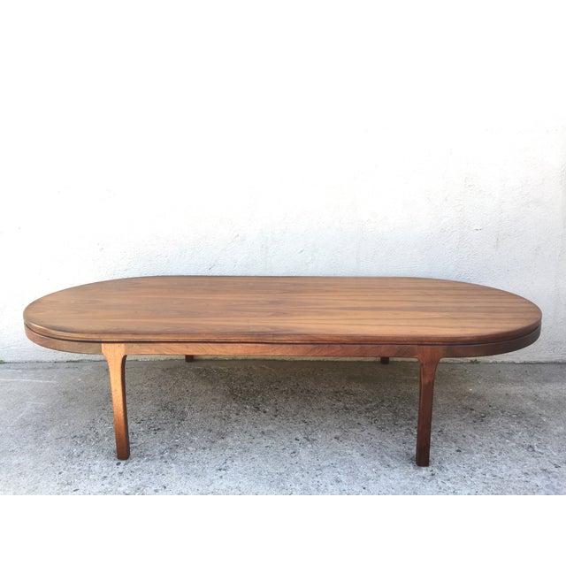 Mid-Century Walnut Coffee Table - Image 10 of 11