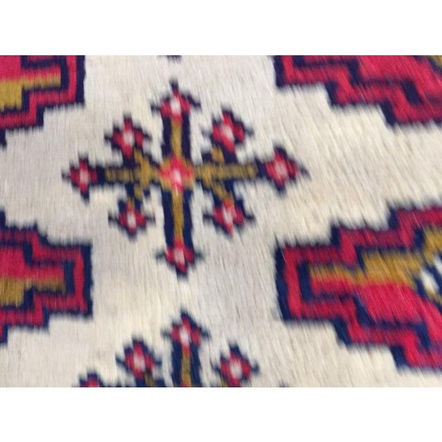 "Turkaman Persian Handmade Rug - 1'8"" x 3'5"" - Image 8 of 9"