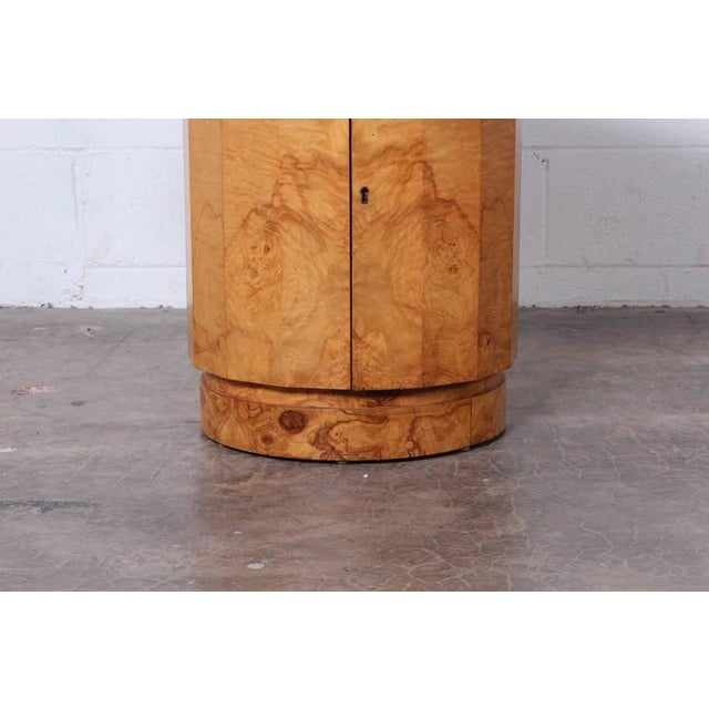 Burl Bar Cabinet / Table by Edward Wormley for Dunbar - Image 5 of 10