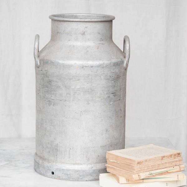 Vintage French Metal Milk Jug - Image 5 of 6
