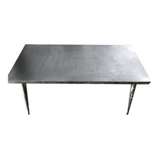 Early 1950's Steel table by Xavier Pauchard for Tolix, France
