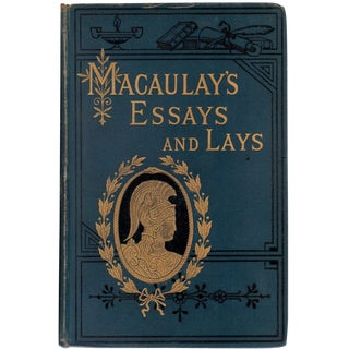 'Lord Macaulay's Essays & Lays' Book