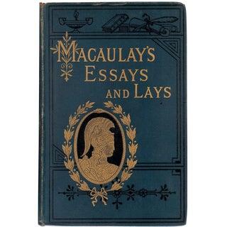 'Lord Macaulay's Essays & Lays' Book