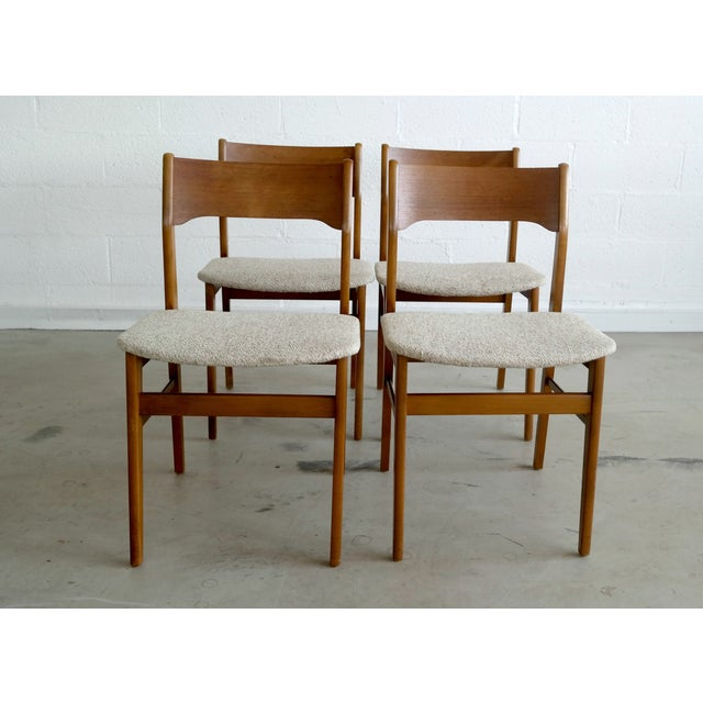 Danish Modern Dining Chairs - Set of 4 - Image 2 of 8
