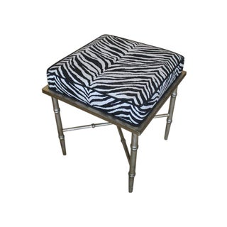 Silver Leaf Bamboo Bench