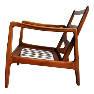 Mid-Century Modern Danish Teak Chair by Ole Wanscher for France & Daverkosen