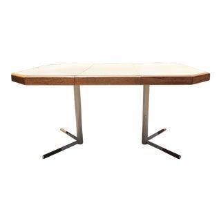 Mid-Century Modern Octagonal Dining Table