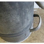 Image of Vintage French Zinc Coal Scuttle -A
