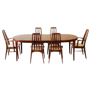 Rosewood Dining Table & Eva Chairs