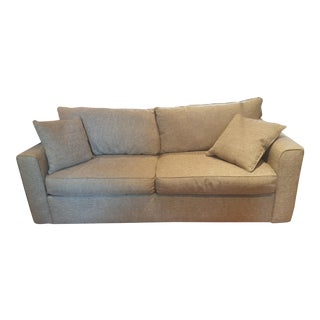 Rowe Beige Queen-Sized Sleeper Sofa