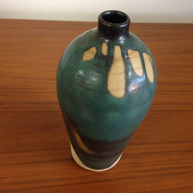 Teal Petite Ceramic Vase - Image 3 of 6