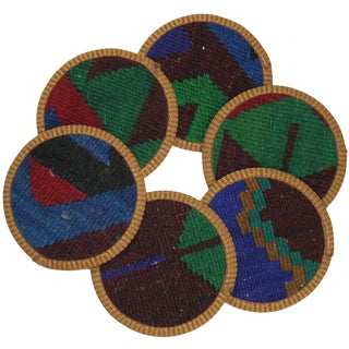 Kilim Zenneciler Coasters - Set of 6