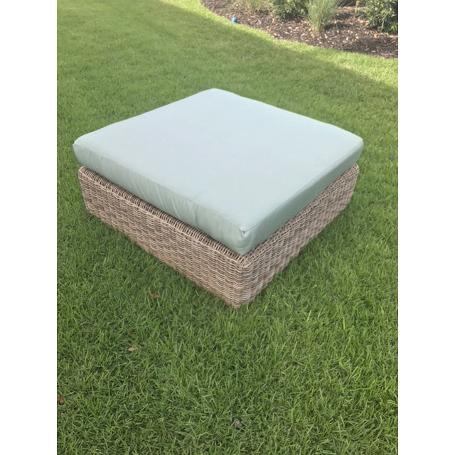 Kingsley Bate Outdoor Ottoman - Image 8 of 8