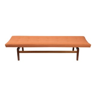 Jens Risom Floating Upholstered Bench