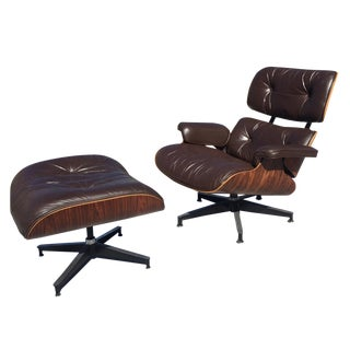Vintage Eames Lounge and Ottoman for Herman Miller