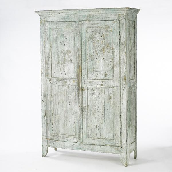 Image of 19th Century Painted Armoire