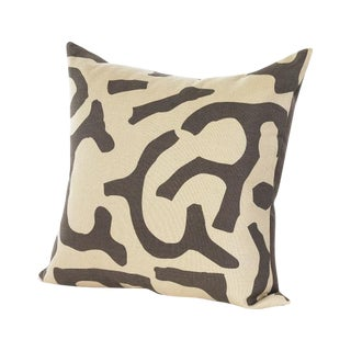 Chocolate and Wheat Pillow