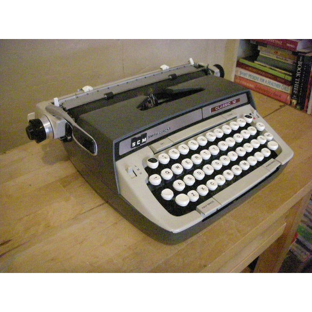 Image of 1960's SCM Classic 12 Typewriter