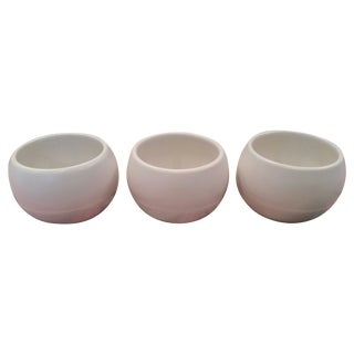 Vintage White Vessels Shiny Matte Combo - Set of 3