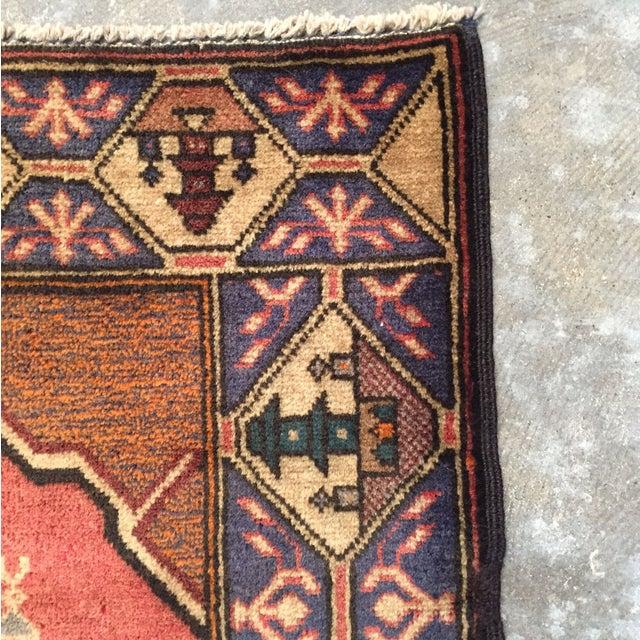 "Vintage Persian Rug - 2'10"" x 4'8"" - Image 6 of 8"