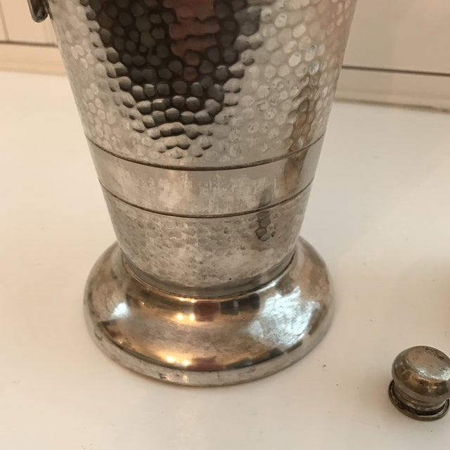 Forbes Silver Co. Art Deco Martini Shaker - Image 8 of 11