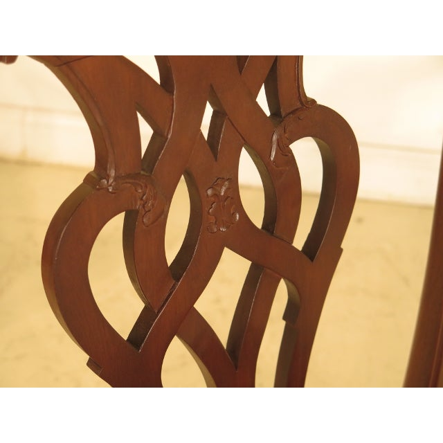 Chippendale Mahogany Dining Room Chairs - Set of 8 - Image 9 of 11