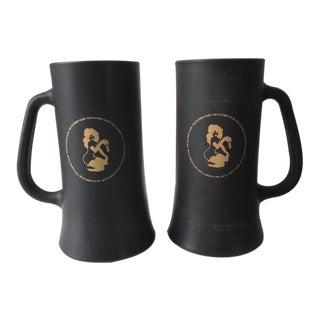 Mid-Century Playboy Club Beer Mugs - A Pair