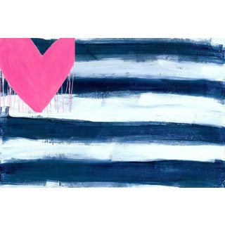 "Kerri Rosenthal ""Heart and Stripes Forever"" Print"