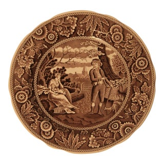 """Spode """"Woodman"""" Archive Collection Plate"""