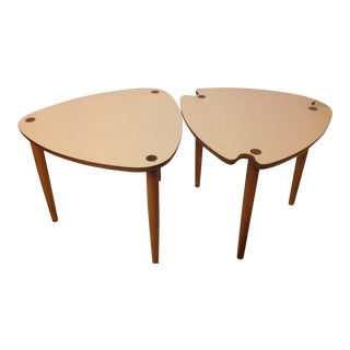 Mid-Century Modern Nesting Tables - a Pair