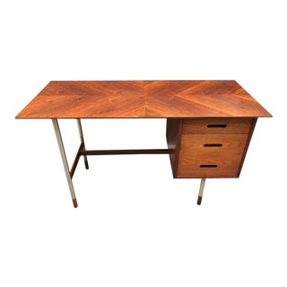 Arne Vodder Danish Modern Teak Desk