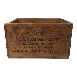 Antique Armour & Company Box