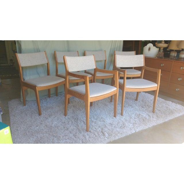 D-Scan Vintage Teak Dining Chairs - Set of 6 - Image 7 of 9