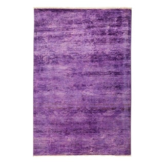 "Vibrance, Hand Knotted Area Rug - 4' 1"" X 5' 10"""