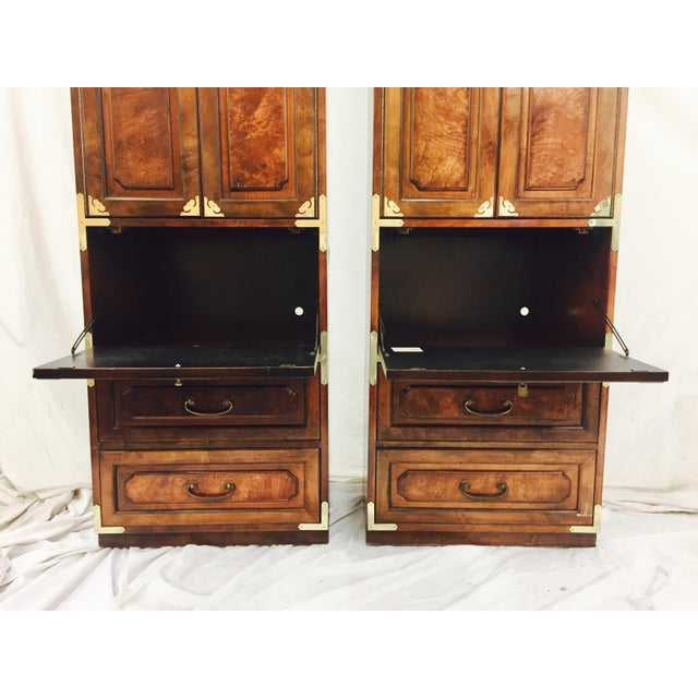 Mid-Century Asian Style Cabinets - A Pair - Image 8 of 11