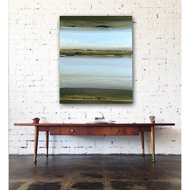 Image of 'Lake' Original Abstract Painting