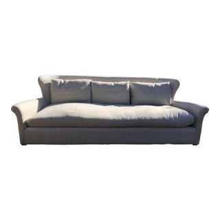 Restoration Hardware Belgian Wingback Sofa