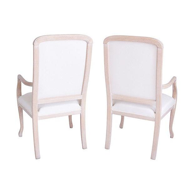 Image of Italian Armchairs by Chateaux D'Ax - a Pair