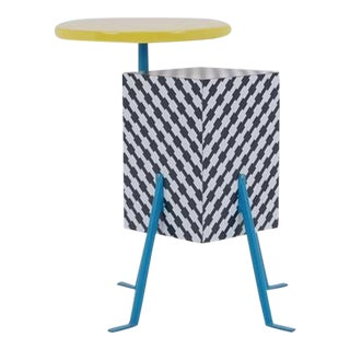 Michele De Lucchi Kristall Side Table for Memphis