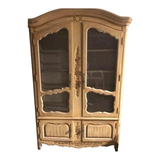 French Style Linen Press Display Cupboard