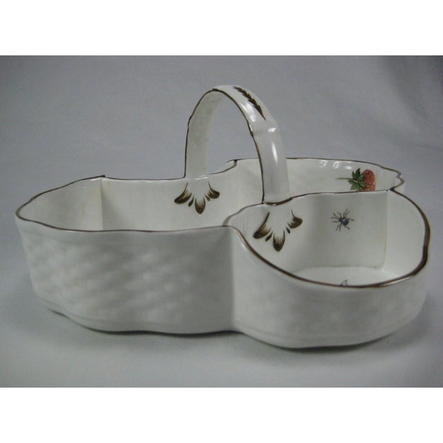 Coalport Bone China Strawberry Basket - Image 6 of 9